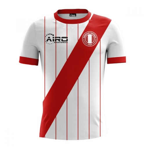 2017-2018 Peru Home Concept Football Shirt (Kids)