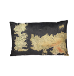 Game of Thrones Pillow Westeros Map 55 cm