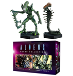 Aliens Retro Collection Figure 2-Pack Mantis Alien & Snake Alien 13 cm