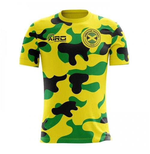 260d36742 Buy Official 2018-2019 Jamaica Home Concept Football Shirt (Kids)