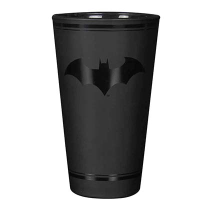 BATMAN Black Pint Glass