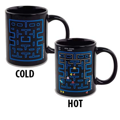 Pacman Heat Reveal Coffee Mug