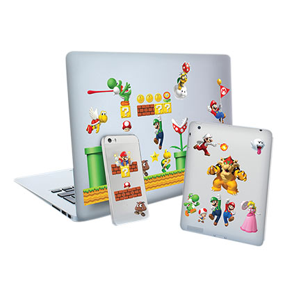 Super MARIO Bros. Laptop And Cellphone Decals