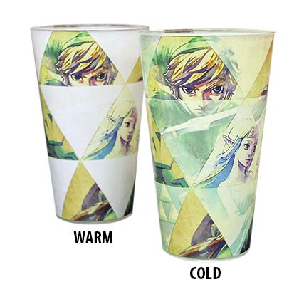 The LEGEND OF ZELDA Color Changing Pint Glass