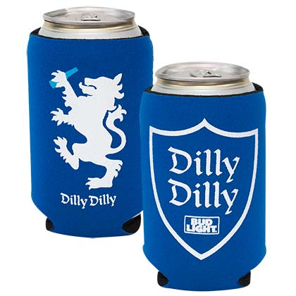 BUD LIGHT Dilly Dilly Can Cooler