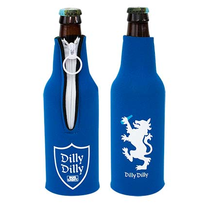 BUD LIGHT Dilly Dilly Bottle Suit Cooler