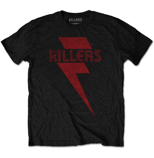 The Killers Men's Tee: Red Bolt