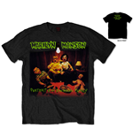 Marilyn Manson Men's Tee: American Family (Back Print)