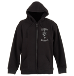 Lemmy Men's Zipped Hoodie: With Sunglasses