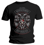 Five Finger Death Punch Men's Tee: Biker Badge