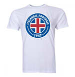 Iceland Core Logo T-Shirt (White) - Kids