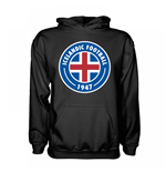 Iceland Core Logo Hoody (Black) - Kids