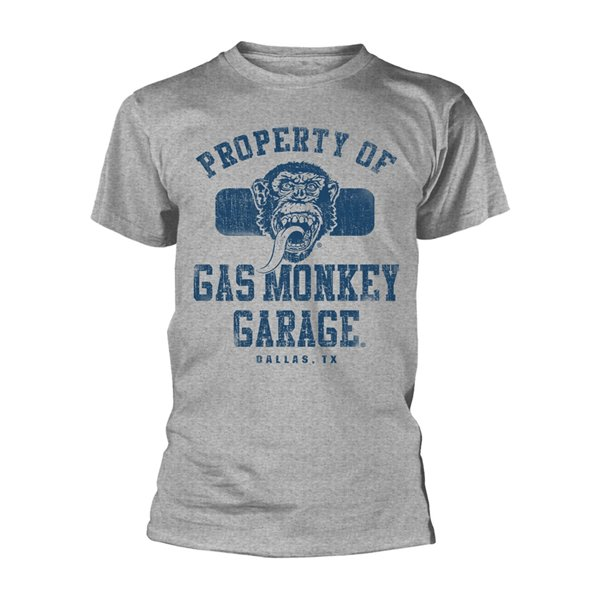 Buy Official Gas Monkey Garage T-shirt Property Of Gmg Dallas
