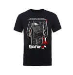 Friday The 13TH T-shirt Bloody Poster