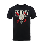 Friday The 13TH T-shirt Day Of Fear