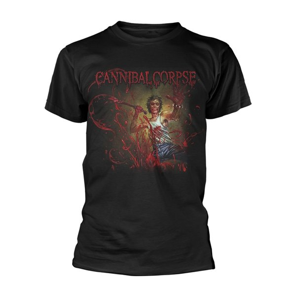 Cannibal Corpse T-shirt Red Before Black
