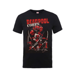 Marvel Deadpool T-shirt Deadpool Family Corps