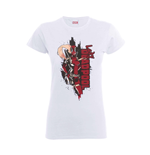 Marvel Deadpool T-shirt Deadpool Lady Deadpool