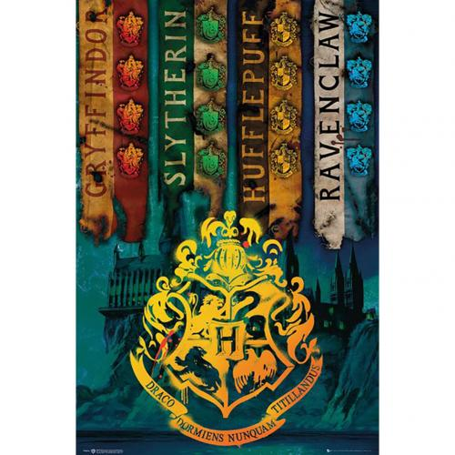 Harry Potter Poster House Flags 229