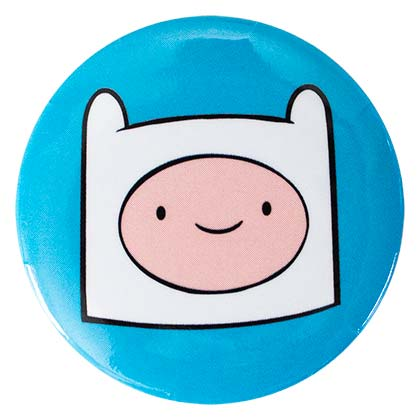 ADVENTURE TIME Finn Button