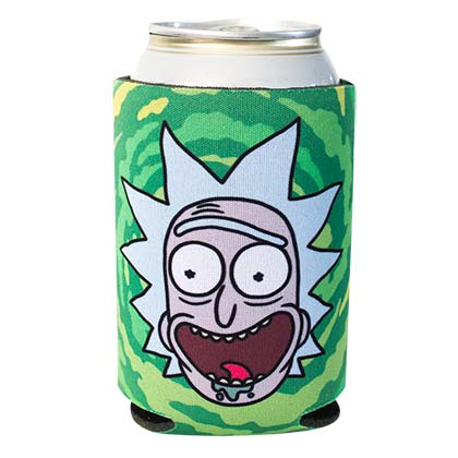 Rick And Morty Screaming Rick Can Insulator
