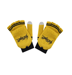 Harry Potter Gloves (Fingerless) Hufflepuff