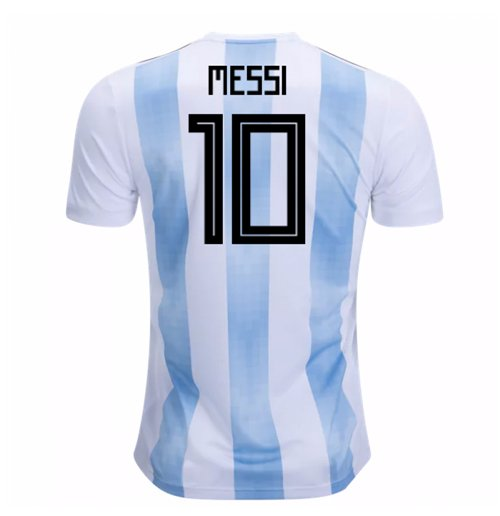 2018-19 Argentina Home Shirt (Messi 10)