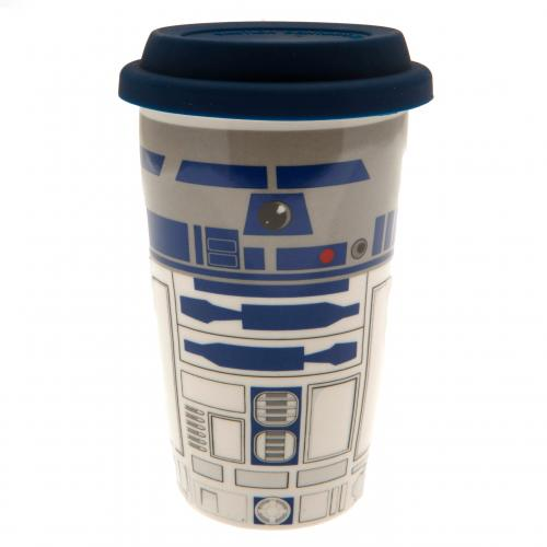 Star Wars Ceramic Travel Mug R2D2