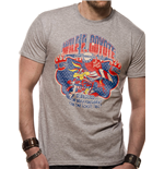 Looney Tunes - Wile E Coyote - Unisex T-shirt Grey