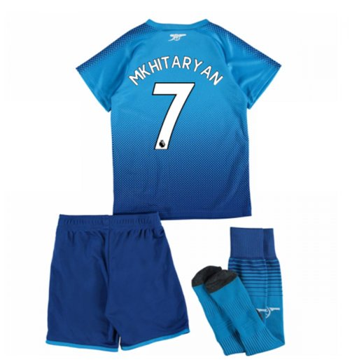 2017-18 Arsenal Away Mini Kit (Mkhitaryan 7)
