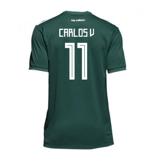 2018-19 Mexico Home Shirt (Carlos V 11) - Kids