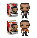 WWE Wrestling POP! WWE Vinyl Figures The Rock (Old School) 9 cm Assortment (6)