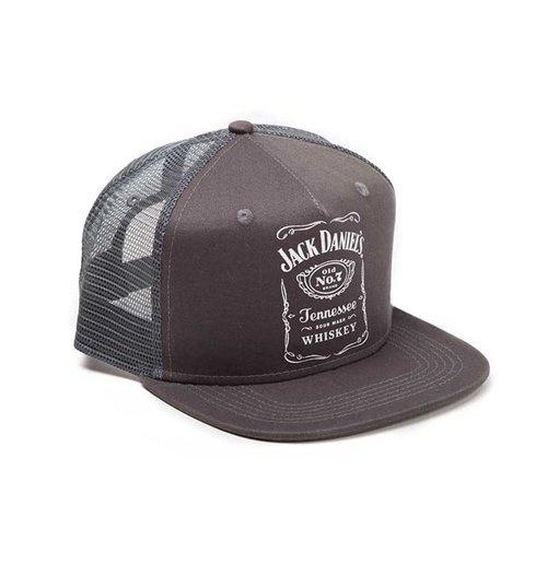 Buy Jack Daniel S Printed Label Logo Trucker Snapback