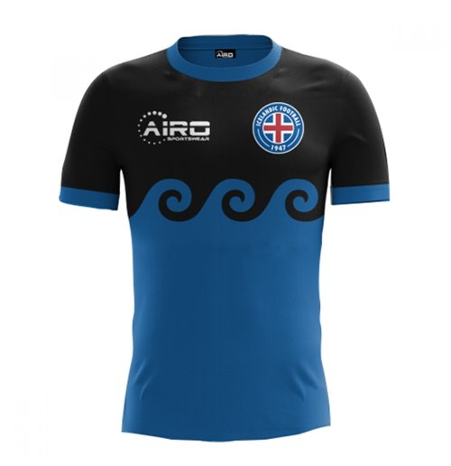 2017-2018 Iceland Third Concept Football Shirt (Kids)