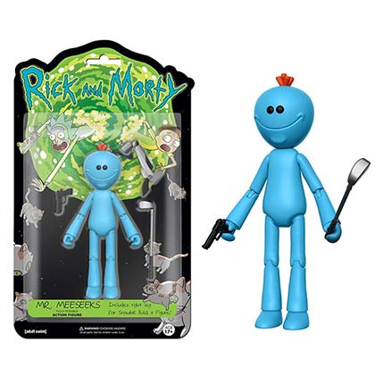 Funko Rick And Morty Mr. Meeseeks Vinyl Action Figure