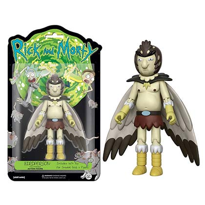Funko Rick And Morty Birdperson Vinyl Action Figure