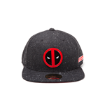 Deadpool - Metal Badge Logo Snapback