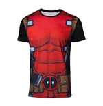 Deadpool - Sublimation Deadpool's Suit T-shirt