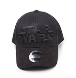 Star Wars - Black On Black Logo Curved Bill