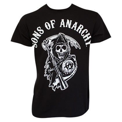 sons of anarchy t shirts official merchandise 2018 19. Black Bedroom Furniture Sets. Home Design Ideas
