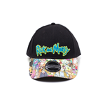 Rick and Morty - Sublimated Print Curved Bill Cap