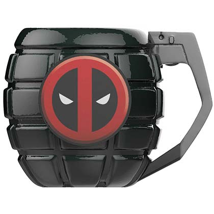 DEADPOOL Grenade Coffee Mug