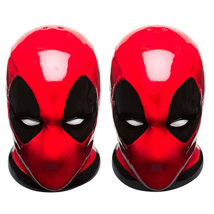 DEADPOOL Salt and Pepper Shakers