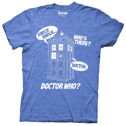 DOCTOR WHO Knock Knock Tshirt