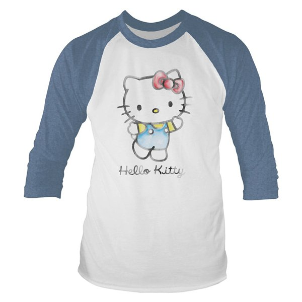 Hello Kitty T-shirt Watercolour