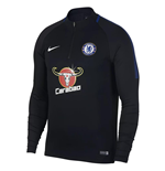 2017-2018 Chelsea Nike Drill Training Top (Black)