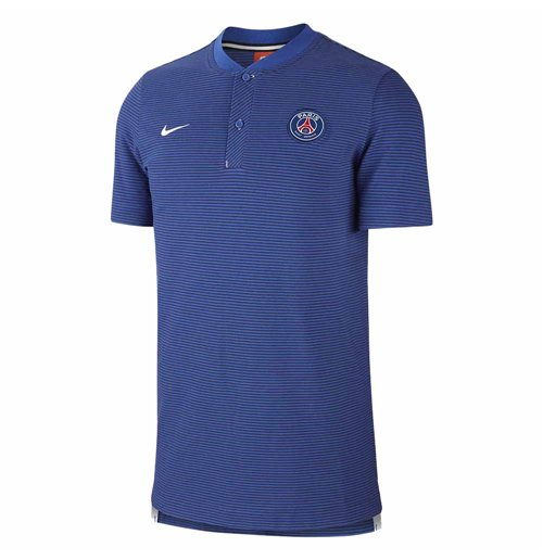 2017-2018 PSG Nike Authentic League Polo Shirt (Game Royal)