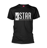 Dc Originals T-shirt Flash Star Labs Logo