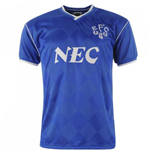 Score Draw Everton 1987 Home Shirt