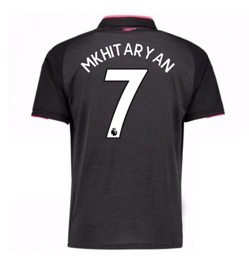 2017-18 Arsenal Third Shirt (Mkhitaryan 7) - Kids